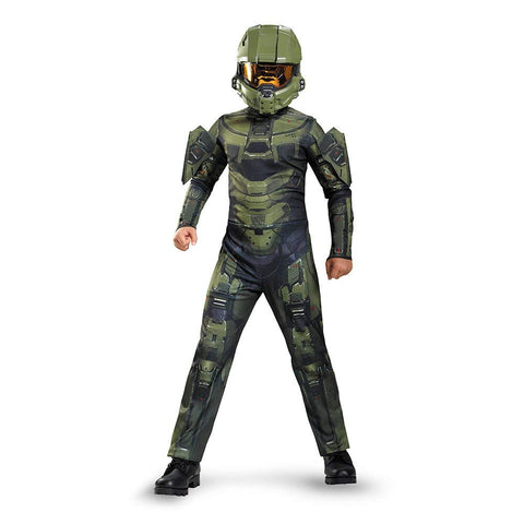 Image of Halo Master Chief Classic Boys Costume