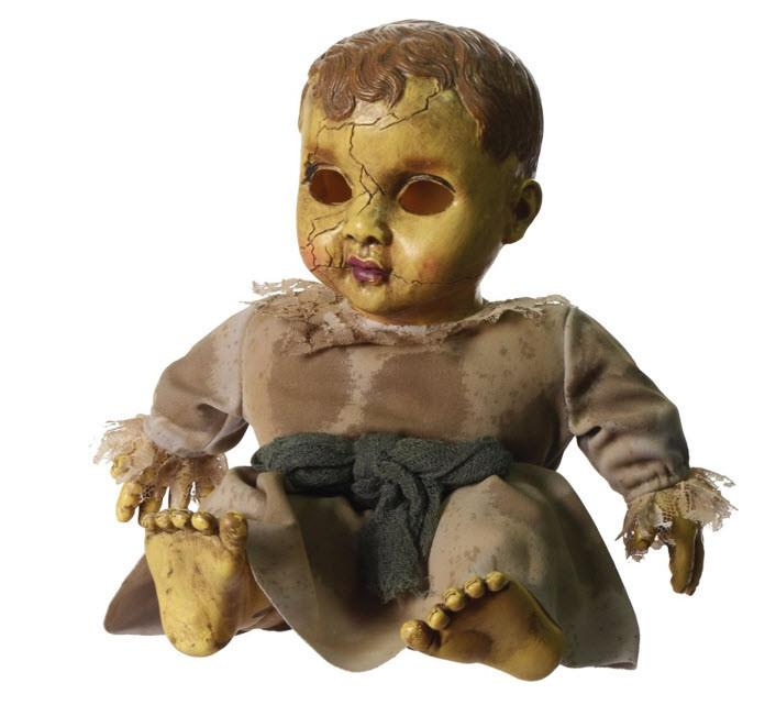 Sound Activated Haunted Baby Doll