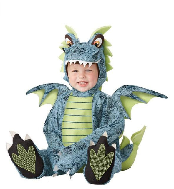 Infant Dragon Jumpsuit Costume
