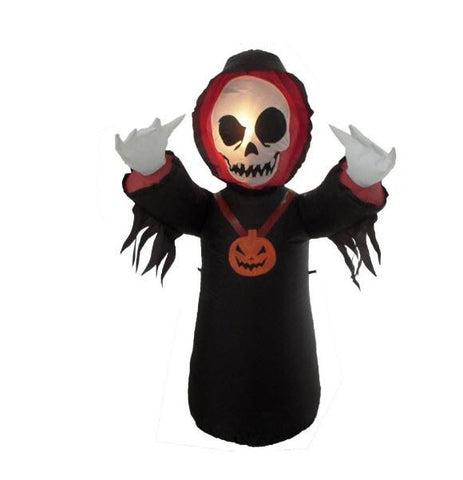 Inflatable Grim Reaper Yard Decoration