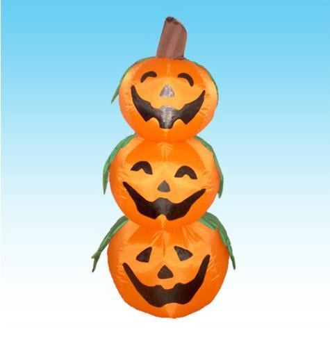 Inflatable Halloween Jack-O-Lanterns