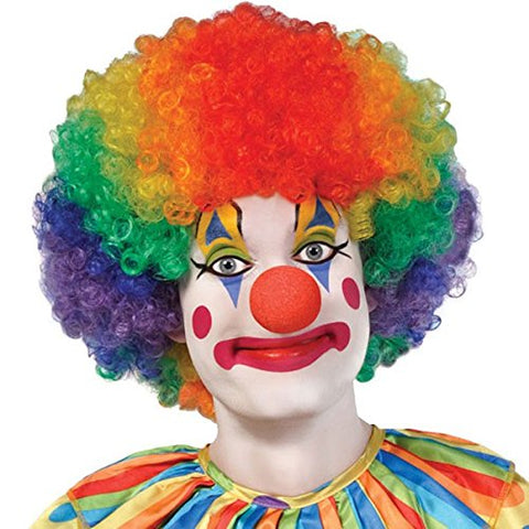 Jumbo Clown Hair Wig