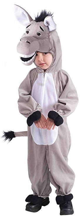 Kids Donkey Animal Costume