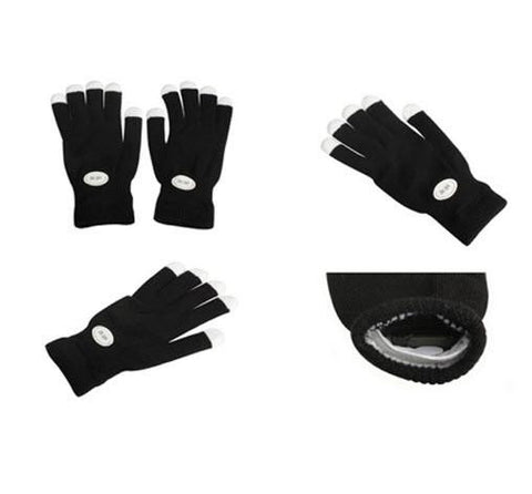Image of LED Gloves Party Light Show Gloves- 7 Light Flashing Modes