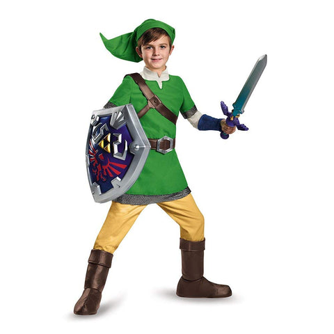 Image of Legend of Zelda Link Boys Costume