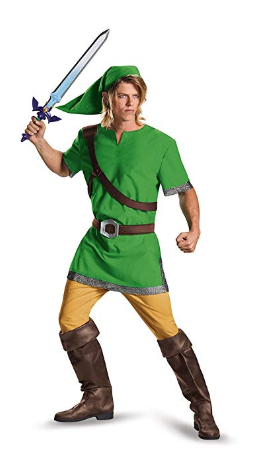 Legend of Zelda Mens Costume