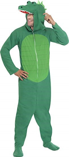 Mens Alligator Crocodile Adult Costume