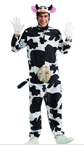 Mens Cow Farm Animal Costume