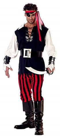 Mens Cutthroat Pirate Costume