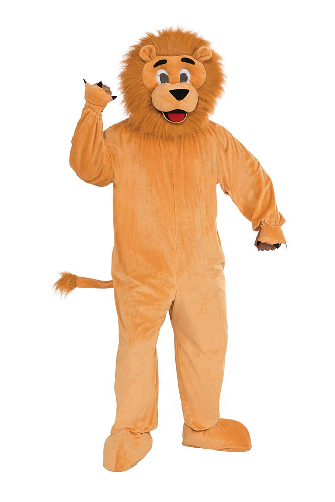 Mens Lion Mascot Animal Costume