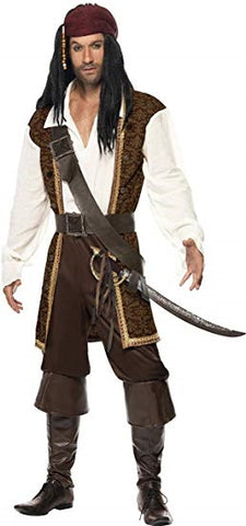 Mens Pirate Adult Costume