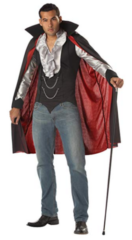 Mens Vampire Adult Costume