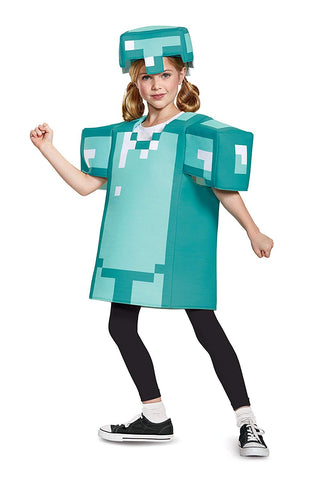 Image of Minecraft Armor Shirt Kids Costume