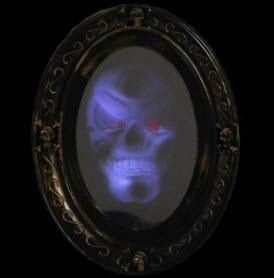 Old Style Spooky Mirror
