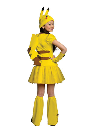 Pokemon Pikachu Girls Costume