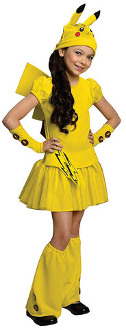 Image of Pokemon Pikachu Girls Costume