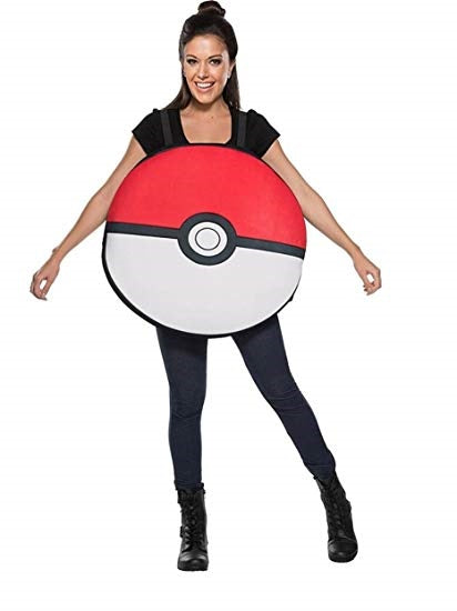 Pokemon Pokeball Adult Costume