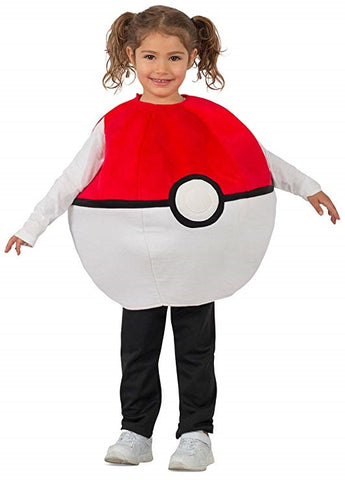 Image of Pokemon Pokeball Kids Costume