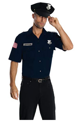 Police Officer Cop Mens Costume