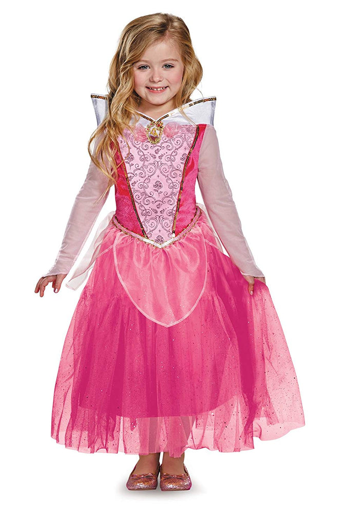 Princess Aurora Sleeping Beauty Girls Costume