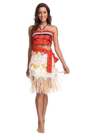 Princess Moana Aloha Adult Costume