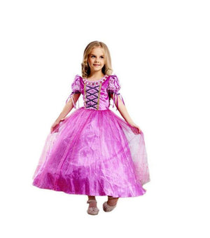 Princess Rapunzel Party Costume Dress