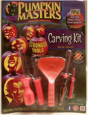 Pumpkin Masters Carving Tool Kit