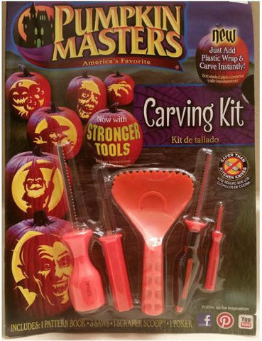 Image of Pumpkin Masters Carving Tool Kit