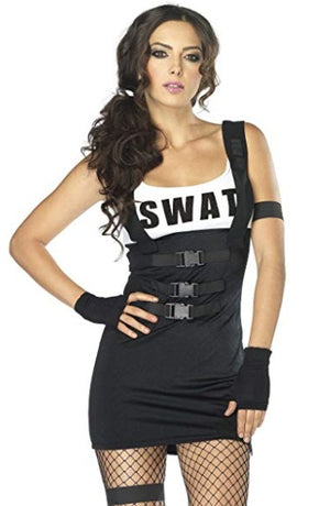 SWAT Officer Women's Costume