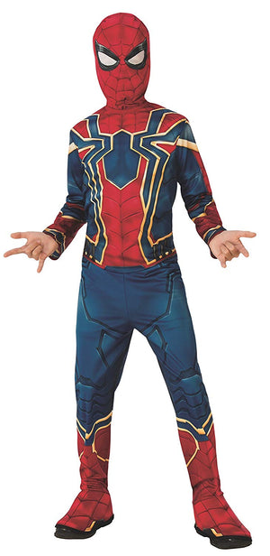 Spider Man Infinity War Boys Costume