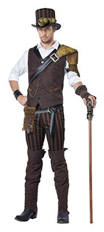 Steampunk Adventurer Mens Costume