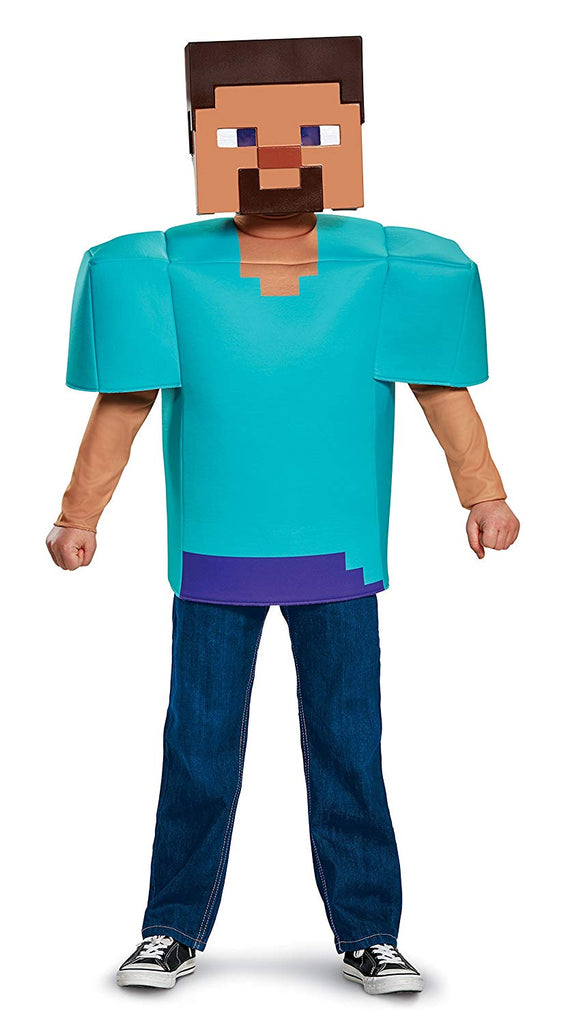 Steve Minecraft Kids Costume