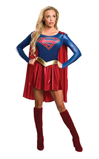 Supergirl Superhero Womens Costume
