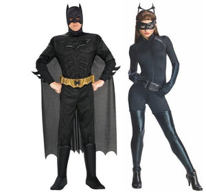 The Dark Knight Rises Batman & Catwoman Adult Couples Costume