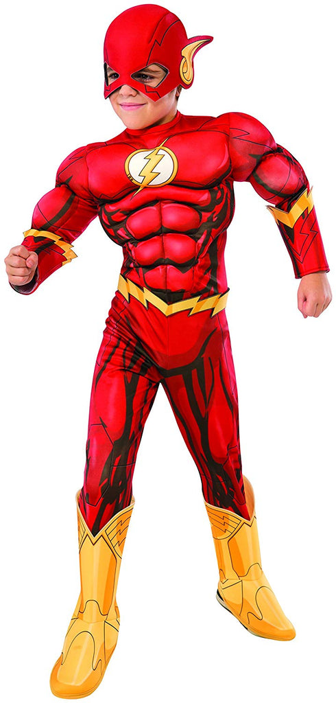 Marvelous The Flash Muscle Chest DC Comics Boys Costume. Hover To Zoom