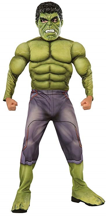 The Hulk Muscle Chest Marvel Boys Costume