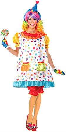 Wiggles Women Clown Costume