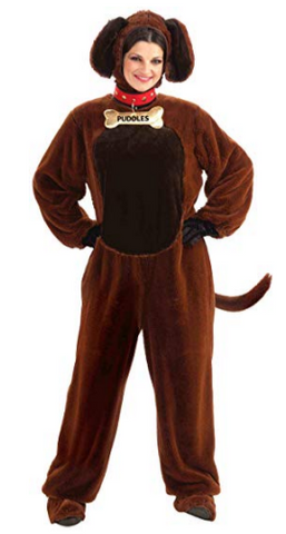Womens Dog Puppy Animal Costume