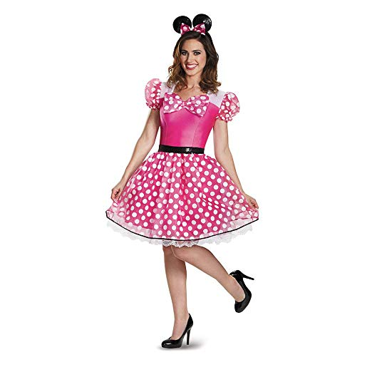Womens Minnie Mouse Adult Costume