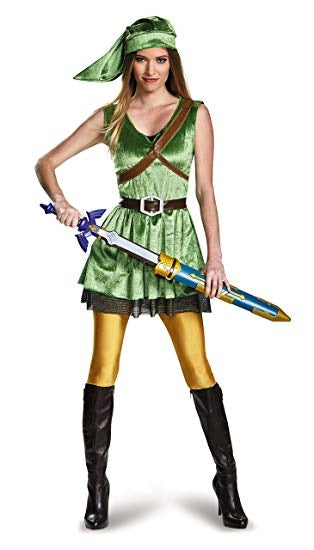 Womens Zelda Link Adult Costume