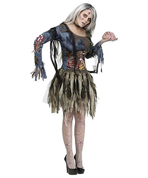 Womens Zombie Adult Costume