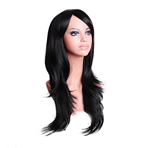 Women's Long Synthetic Hair Costume Wig, 8 Colors