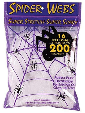 Super Stretch Spider Web - 16 Foot