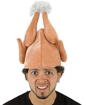 Thanksgiving Day Halloween Roasted Turkey Hat