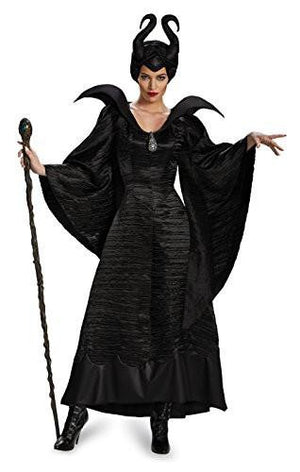 Maleficent Black Gown Women's Costume