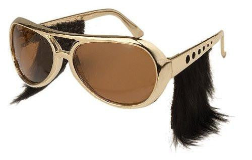 Elvis Style Glasses with Sideburns