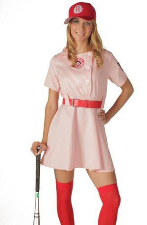 Rockford Peaches Women's A League Baseball Uniform Dress