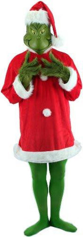 Image of Dr. Seuss The Grinch Costume with Mask