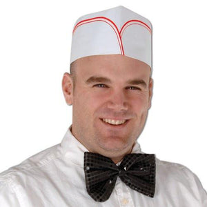 Soda Jerk Hats - 4 Pack