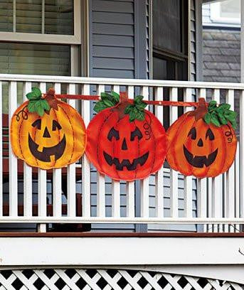 Image of Halloween Pumpkin Bunting